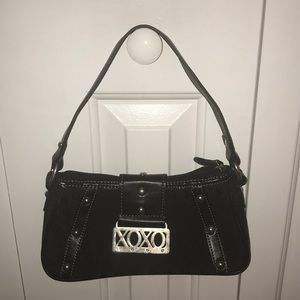 XOXO BLACK PURSE
